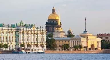 Moscú y San Petersburgo en Tren Nocturno o Alta Velocidad