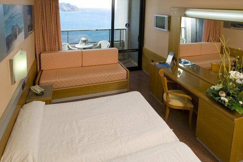 غرفة Gran Hotel Bali بينيدورم