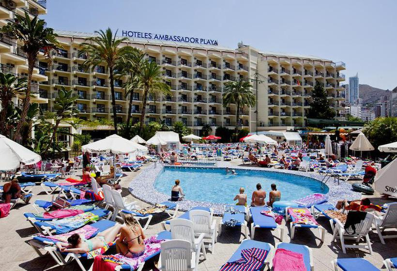 Swimming pool Hotel Ambassador Playa II Benidorm
