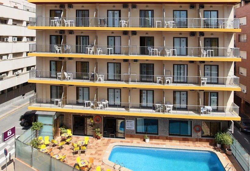 Aussenbereich Hotel Brasil Benidorm