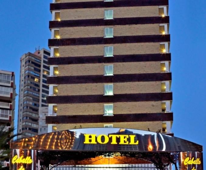 Outside Hotel Caballo de Oro Benidorm
