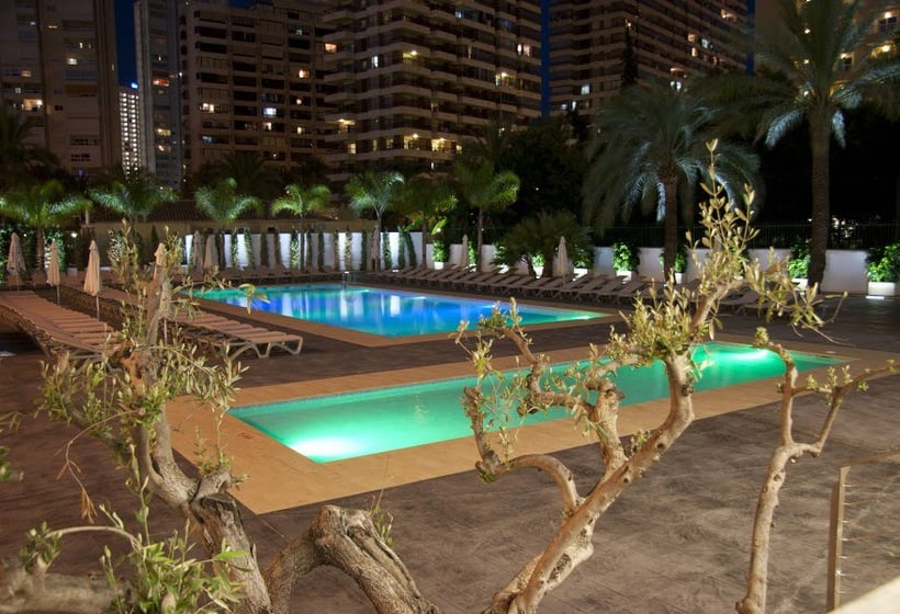 Piscina Hotel Flash - Adults Only Benidorm
