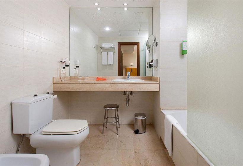 Badezimmer Hotel NH Rambla de Alicante