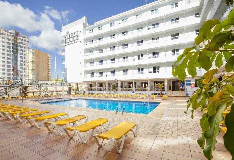 Hotel port fiesta park em benidorm desde 23 destinia for Piscina climatizada benidorm