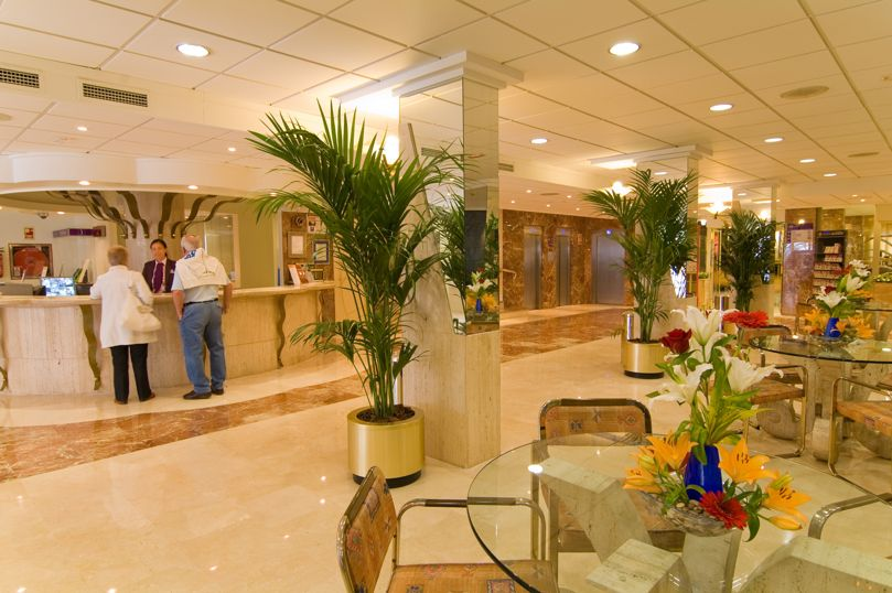 Rezeption Hotel Servigroup Diplomatic Benidorm