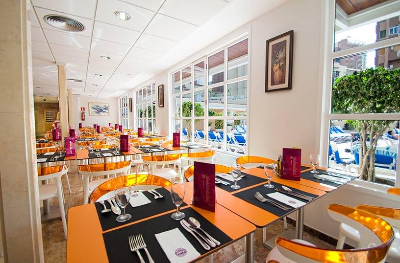 레스토랑 호텔 Servigroup Nereo 베니 돔