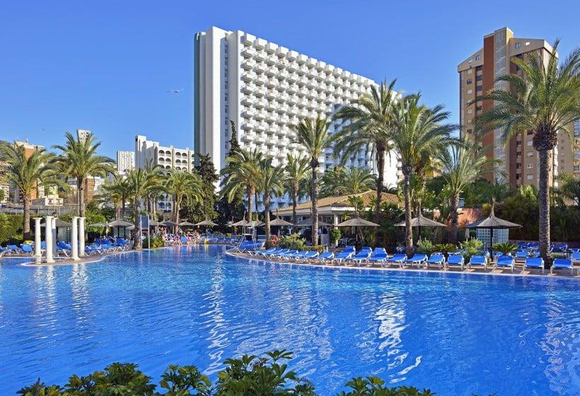 Swimming pool Hotel Sol Pelícanos Ocas Benidorm