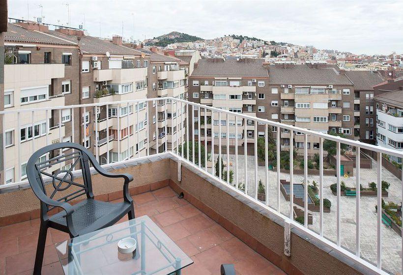 تراس فندق Catalonia Park Putxet برشلونة