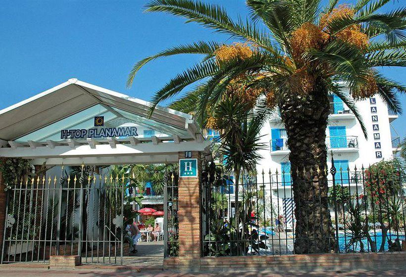 외관 호텔 H Top Planamar Malgrat de Mar