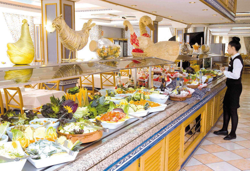 레스토랑 호텔 Riu Playa Park Platja de Palma
