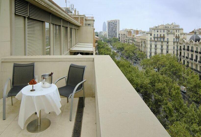 ホテル Silken Gran Havana バルセロナ