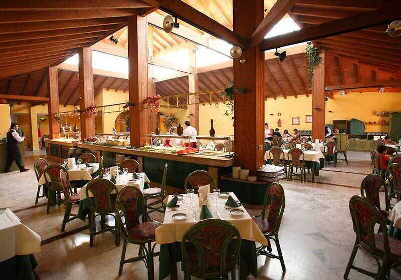 مطعم Aparthotel Las Dunas نوفو سانكتي بيتري