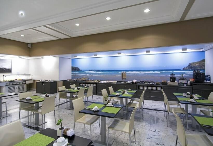 مطعم فندق Meliá Maria Pita لاكورونيا