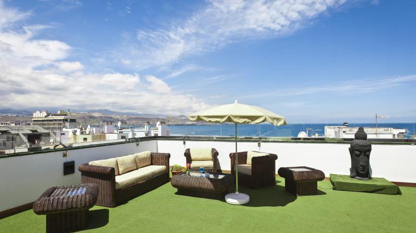 Terrasse Cantur City Hotel Las Palmas de Gran Canaria