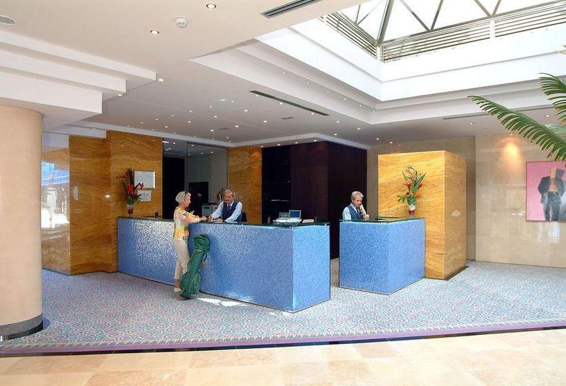 Rezeption Hotel IFA Faro Maspalomas