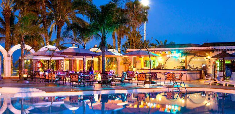 Aussenbereich Hotel Meliá Tamarindos San Agustin