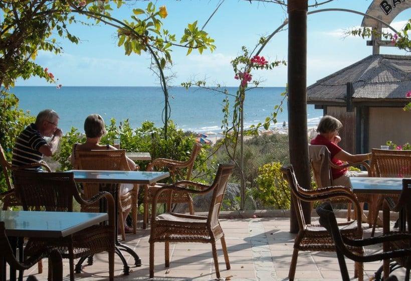 Terrasse Hôtel SBH Taro Beach Costa Calma