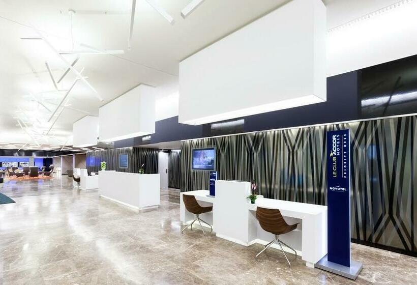 Beeld van het hotel Novotel Madrid Center