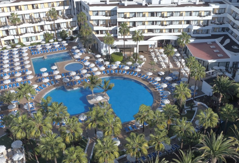 Swimming pool Hotel Iberostar Las Dalias - All Inclusive Costa Adeje