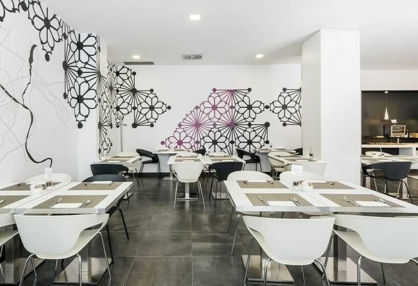 Cafetaria Hotel Ilunion Romareda Saragoça