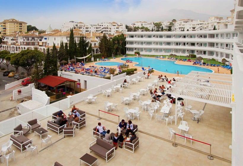Schwimmbad Hotel Palia La Roca Benalmadena