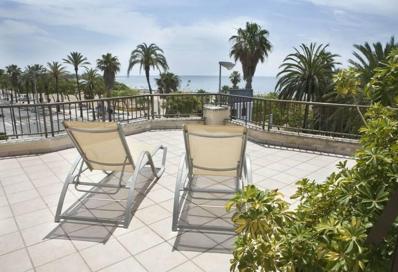 terraça Hotel Rovira Cambrils