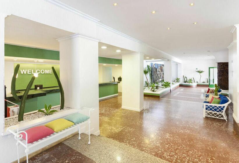 Zonas comuns Hotel Sol Puerto Playa Porto da Cruz
