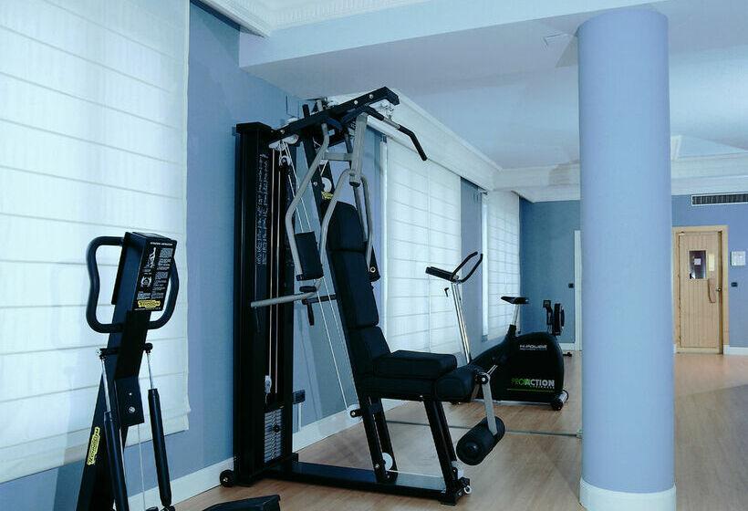Sporteinrichtungen NH Collection Gran Hotel de Zaragoza Saragossa