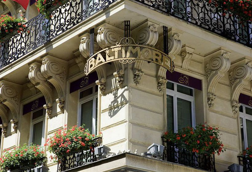 Hotel baltimore paris mgallery collection in paris for Hotel baltimore paris