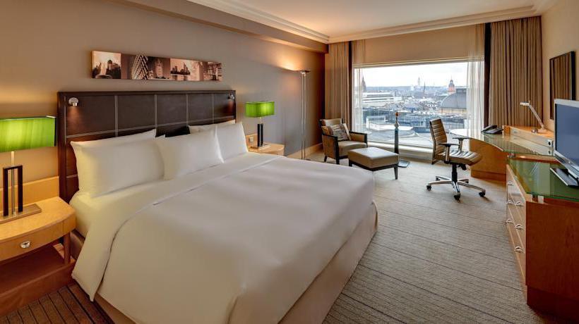 Quarto Hotel Hilton Frankfurt