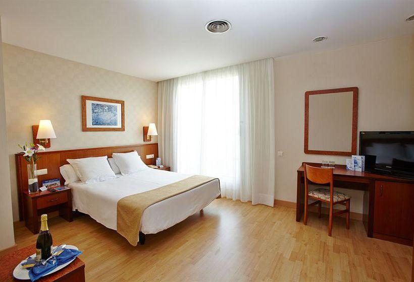 Habitación Hotel HCC Montblanc Barcelona