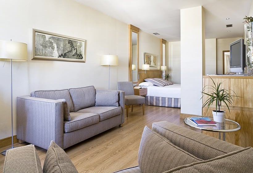 اتاق هتل Hesperia A Coruña A Corunya