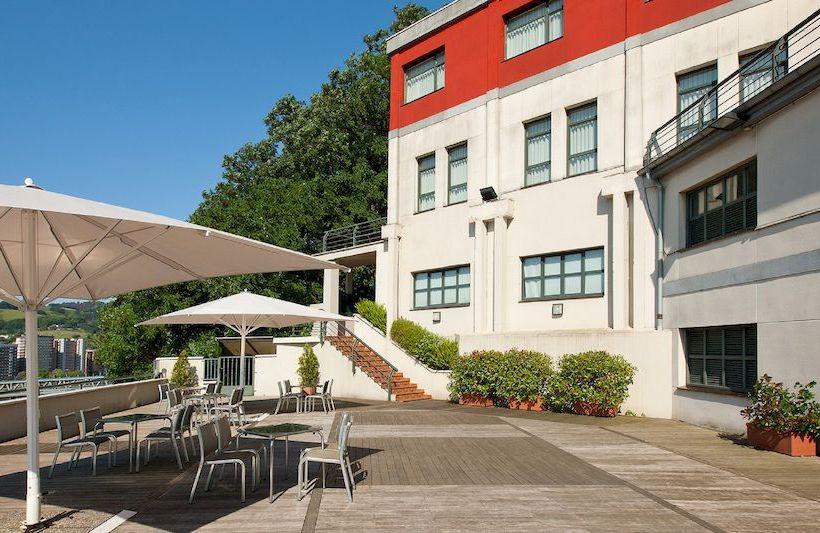 Terrace Hotel Hesperia Zubialde Bilbao