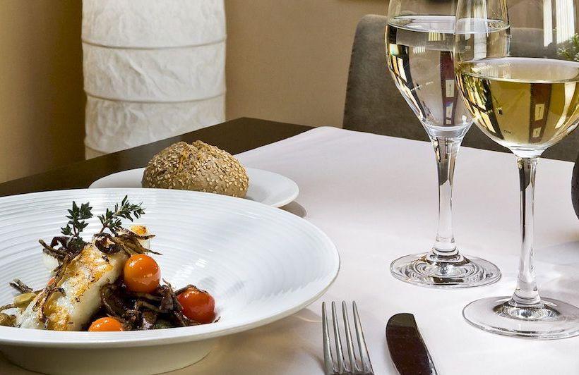 레스토랑 호텔 Hesperia Zubialde 빌바오