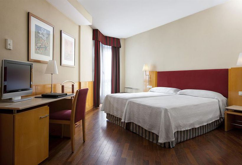 Chambre Hôtel Leonardo Madrid City Center