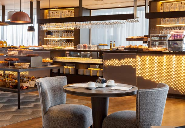 레스토랑 호텔 AC Gran Canaria 라스팔마스 데 그란 카나리아
