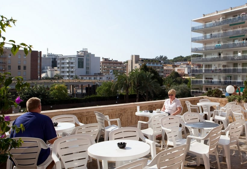 Terrasse Hôtel H Top Gran Casino Royal Lloret de Mar