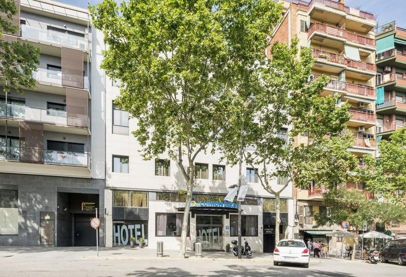 Buitenkant Hotel Ilunion Bel Art Barcelona