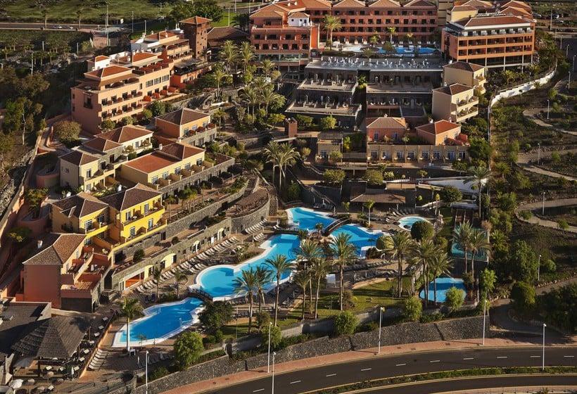 Outside Hotel Meliá Jardines del Teide Costa Adeje