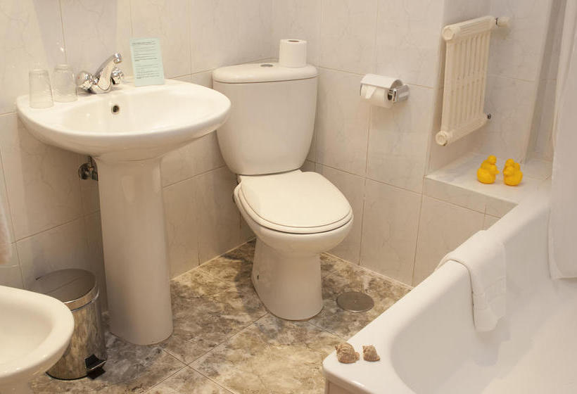 Bathroom فندق Torremolinos Centro تورّيمولينوس