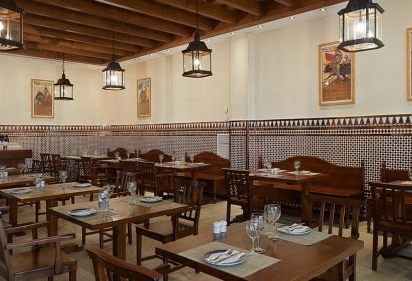 레스토랑 Hipotels Barrosa Garden Novo Sancti Petri