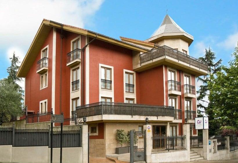 Aussenbereich Hotel Ayre Alfonso II Oviedo