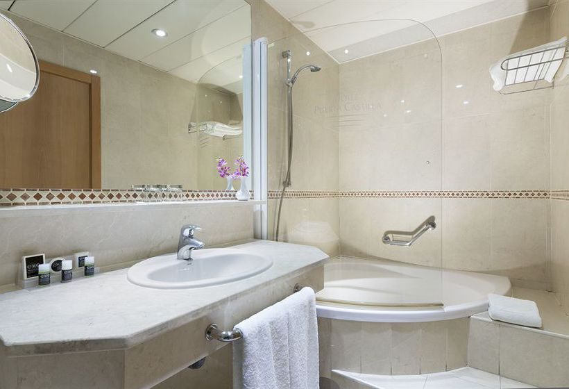 Bathroom Hotel Exe Plaza Madrid