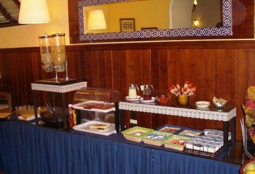 مطعم فندق Abanico إشبيلية