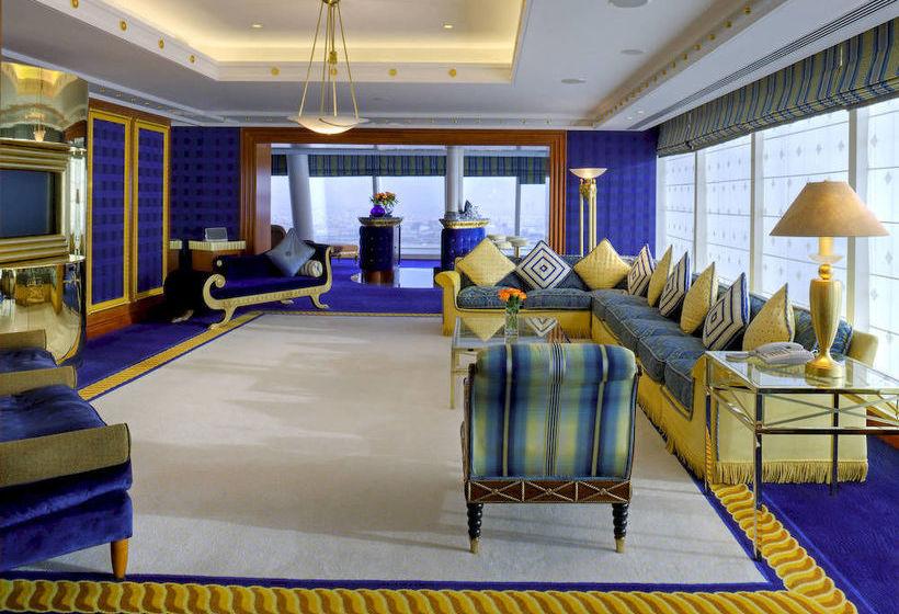 Zimmer Hotel Burj Al Arab Jumeirah Dubai