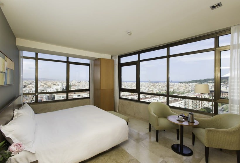 Kamer Gran Hotel Torre Catalunya Barcelona