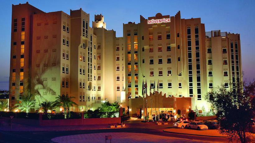 外部 ホテル Movenpick Doha ドーハ