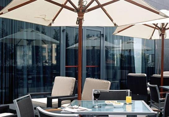 Aussenbereich Hotel AC Gijón Gijon