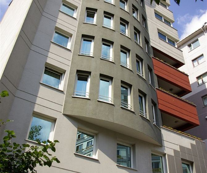 Aussenbereich Hotel The Residence Gayrettepe Istanbul