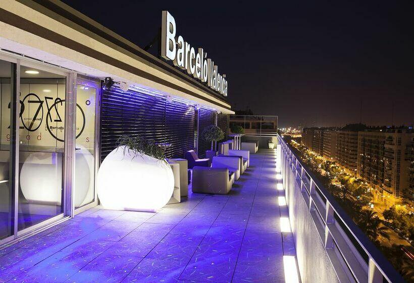 Aussenbereich Hotel Barceló Valencia